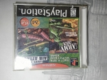 Игры диски Пс1 Playstation 1 one Army men 2in1 air attack 3d, фото №2