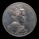 Великобритания 5 фунтов 2002 золотой юбилей правления, фото №3