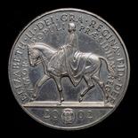 Великобритания 5 фунтов 2002 золотой юбилей правления, фото №2