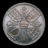 Великобритания крона 1953  Коронация, фото №2