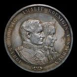 Саксония двойной талер 1872 серебро, фото №5