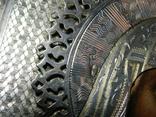 Икона. Смоленская Божья Матерь. Серебряный оклад. Мастер Семён Галкин 1896 год, фото №8