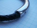Мужской кожаный браслет Liora., фото №5