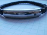 Мужской кожаный браслет Liora., фото №8