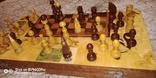 Шахматы СССР большие, 60х60, с утяжелением купюры, фото №3