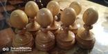 Шахматы СССР большие, 60х60, с утяжелением купюры, фото №4