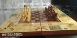 Шахматы СССР большие, 60х60, с утяжелением купюры, фото №8