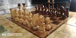 Шахматы СССР большие, 60х60, с утяжелением купюры, фото №2