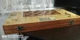 Шахматы СССР большие, 60х60, с утяжелением купюры, фото №10