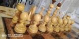 Шахматы СССР большие, 60х60, с утяжелением купюры, фото №11