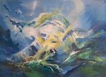 Абстрактная живопись на холсте №2, фото №2