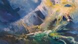 Абстрактная живопись на холсте №2, фото №3