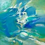 Абстрактная живопись на холсте №4, фото №2