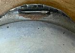 Серебряная пудреница 800 пробы с узором, фото №6