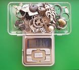 Серебряные изделия, 107 грамм., фото №2