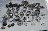 Серебряные изделия, 107 грамм., фото №5