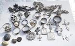 Серебряные изделия, 107 грамм., фото №6