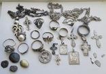 Серебряные изделия, 107 грамм., фото №10