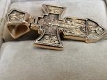 Крест Православный 585, фото №3