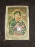 Икона Иисус и Божья Мать, фото №2