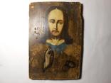 Икона Вседержитель старая 21,7х15х1,4, фото №3
