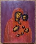 Ікона Тихвінська Богородиця, 22,0х17,7 см, фото №3