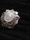 Орден Александра Невского, серебро, копия, фото №5