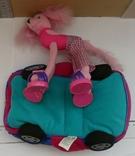 Машинка з собакою для барбі Barbie MATTEL 2002 EL SEGUNDO, фото №8