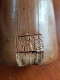 Бутылка из глины 1л, фото №5