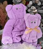 Подарочный набор полотенец / фиолетовый, фото №3