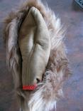 Зимння шапка з лами Монголія 50-70 років, фото №2