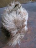Зимння шапка з лами Монголія 50-70 років, фото №4