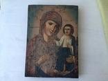 Божья матерь Тихвинская - 23,5х16,7 см., фото №3