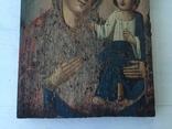 Божья матерь Тихвинская - 23,5х16,7 см., фото №5