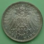 3 марки. Бавария. 1911 год., фото №5