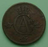 1/2 шилинг. Швеция. 1803 год., фото №6
