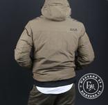 Стильная зимняя куртка размер M / песочный, фото №7