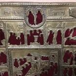 Старинный оклад на икону, фото №5