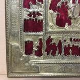 Старинный оклад на икону, фото №10