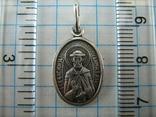 Серебряный Кулон Подвеска Ладанка Святой князь Дмитрий Серебро 925 проба 876 фото 3