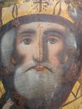 Cв. Николай, 22х12 см, сосновая доска, фото №3