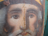 Cв. Николай, 22х12 см, сосновая доска, фото №5