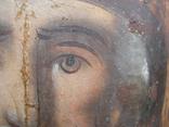 Cв. Николай, 22х12 см, сосновая доска, фото №7