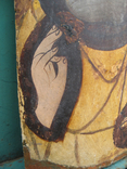 Cв. Николай, 22х12 см, сосновая доска, фото №9