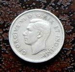 10 центов Канада 1947* состояние серебро, фото №4