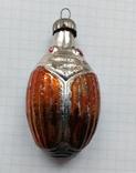 Елочная игрушка Жук СССР 6.5 см, фото №2