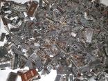 Микросхемы 155,157,174 и другие , позолота , вес 2.031.4г, фото №3