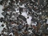 Микросхемы 155,157,174 и другие , позолота , вес 2.031.4г, фото №7