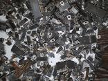 Микросхемы 155,157,174 и другие , позолота , вес 2.031.4г, фото №8