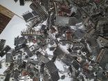 Микросхемы 155,157,174 и другие , позолота , вес 2.031.4г, фото №11